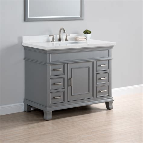single vanity charleston 42 quot single sink vanity mission furniture