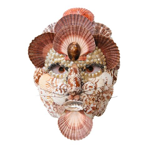 seashell mask  archimbaldo  antique row west
