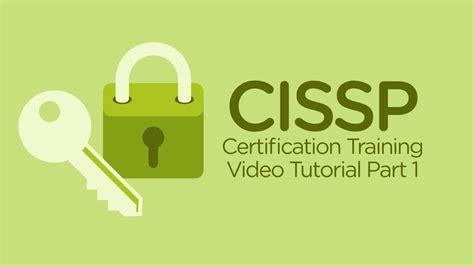 cissp training video cissp tutorial  part