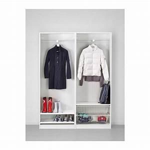 PAX Armoire Penderie 150x44x201 Cm IKEA Bureau En