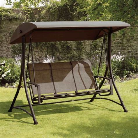 Garden Hammocks Tesco by Buy Suntime Bronze 3 Seat Garden Swing From Our