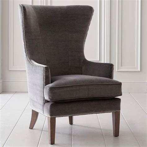 accent chair in gray