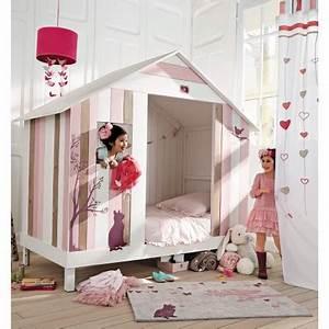 Enfant Lit Fille : lit cabane petit prix ~ Teatrodelosmanantiales.com Idées de Décoration