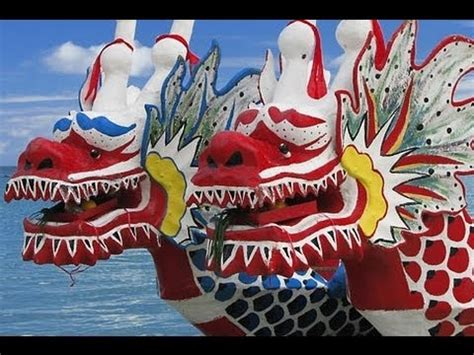 Chinese Dragon Boat Festival Youtube by China Celebrates Festival On Dragon Boats Youtube