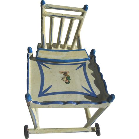 antique white wooden high chair the best antique 2017