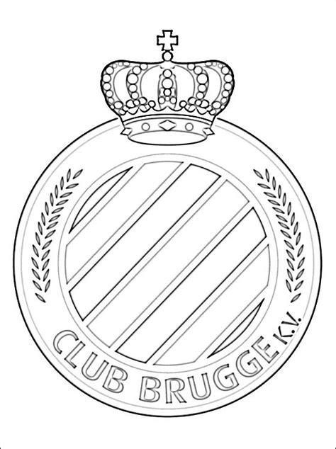 logo club brugge koninklijke voetbalvereniging disegni
