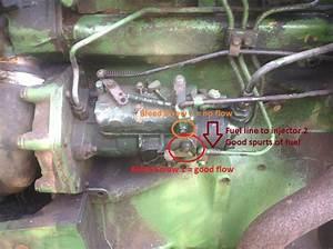 How To Bleed Fuel Lines Diesel Tractor