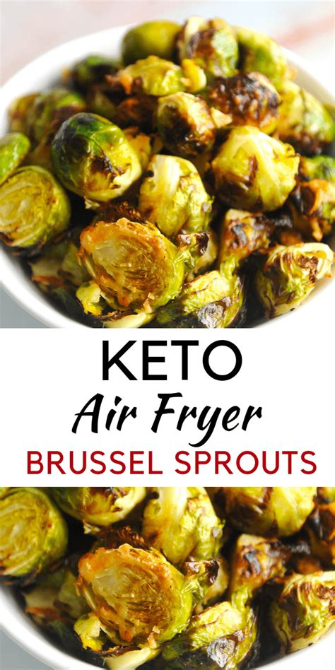 brussel sprouts fryer air keto recipe