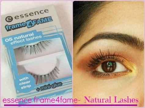 natural glamour   lashes essence framefame lashes
