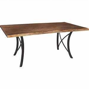 Premier Live Edge Dining Table - Amish Crafted Furniture