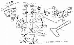 Dixon Ztr 4515k  1998  Parts Diagram For Deck 36 U0026quot