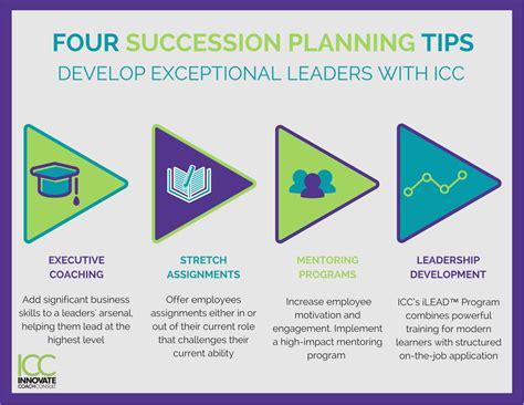 succession planning tips leadership training icc