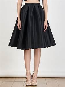 Black Midi skirt Choies