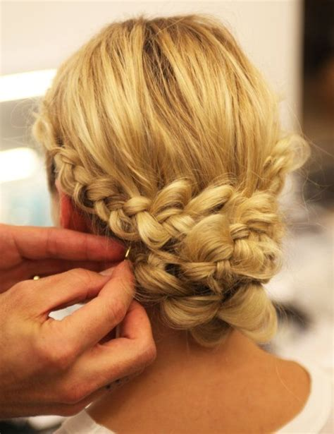 braid hairstyles you can do yourself from the runway a braided chignon you can do yourself