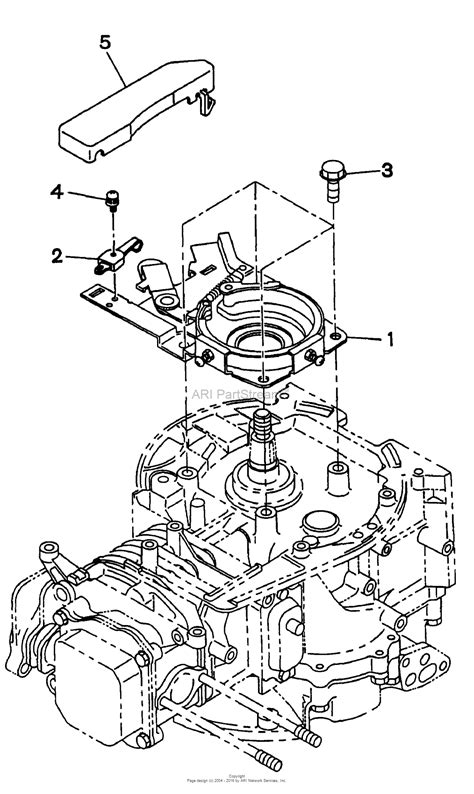 4 Engine Diagram by Snapper Eh18v 6 5 Hp 4 Cycle Ohv Robin Engine Parts