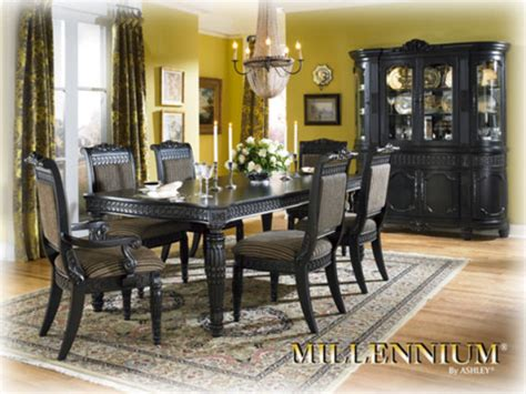 britannia rose dining set ashley furniture