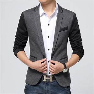 new style men blazer 2016 suit men brand casual jacket ...