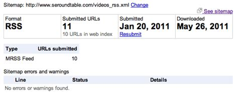 Video Placement Helps Google Index Videos