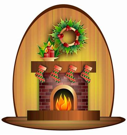 Clipart Cozy Clip Cliparts Christmas Library Domain