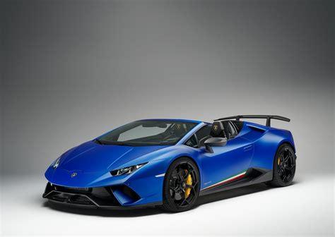 Lamborghini 2019 : 2019 Lamborghini Huracan Performante Spyder
