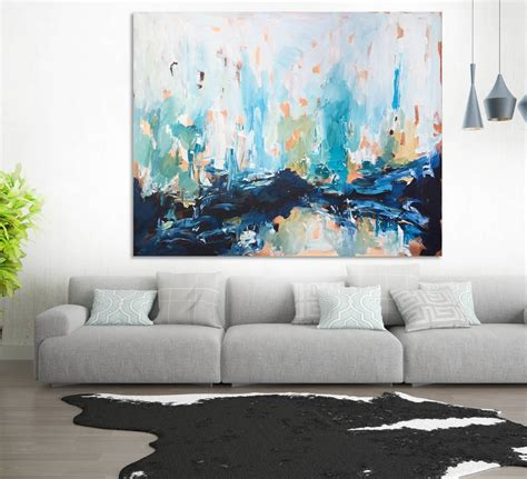 Painting Living Room Walls by 15 The Best Abstract Wall For Living Room