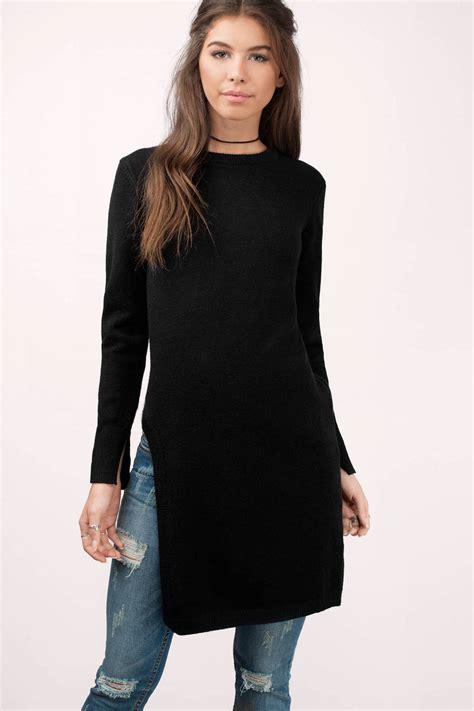 black sweater black sweater black sweater sleeve sweater 48 00