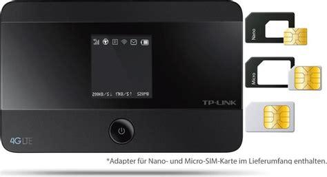 wlan router mit sim karte tp link m7350 4g lte 3g umts mobiler wlan hotspot router