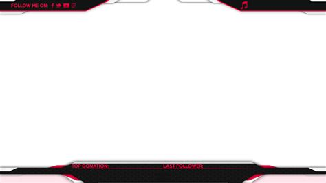 twitch overlay template girls red twitch stream overlay template pictures to pin on