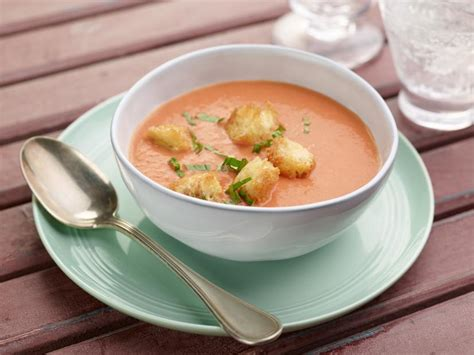 Cbell S Tomato Soup by Of Fresh Tomato Soup Recipe Ina Garten Food Network