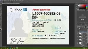 Bank Id Card Format Nwt Canada Driving Licence Psd Template Free Psd Template
