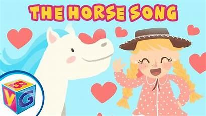 Horses Horse Song Rhyme Nursery Fun Children