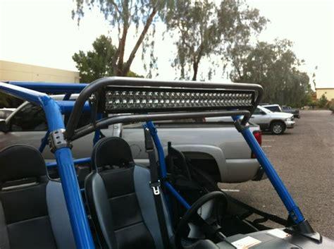 polaris rzr jagged x 30 quot led light bar mount combo