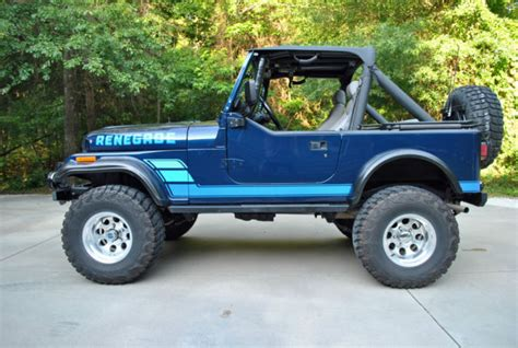 Jeep Cj 1984 Blue For Sale. 1jccm87exet086214 1984 Jeep