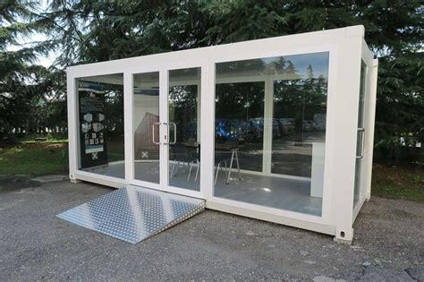 container vetrati uso ufficio o negozio sogeco - Noleggio Container Uso Ufficio