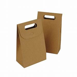 Brown Kraft Gift Box Bag Party Bags & Boxes - The Party