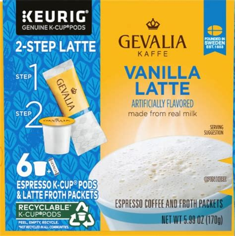 With technological advancements, coffee brands are aware of the fact that people don't have in addition, the best instant coffee is also 10% pure. Mariano's - Gevalia Vanilla Latte Espresso K-Cup Pods & Froth Packets, 6 ct