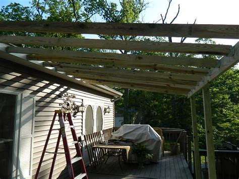 how to build a deck with a roof re defind re decorated deck