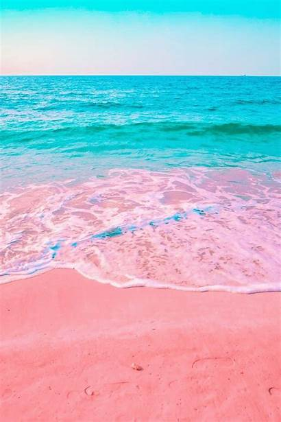 Beach Pink Wallpapers Cave