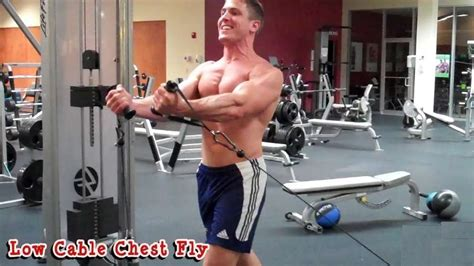 Pec Deck Flyes Cable Crossovers by Low Pulley Cable Fly Bodybuilding Wizard