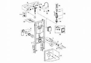 Mecanisme Chasse D Eau Wc Suspendu Siamp : pieces detachees wc suspendu grohe m canisme chasse d 39 eau wc ~ Dailycaller-alerts.com Idées de Décoration