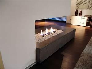 Ethanol Kamin Raumteiler : whitecube ein modernes architektenhaus in wiener neustadt ~ Watch28wear.com Haus und Dekorationen
