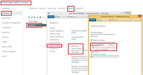 Office 365 Mail Forwarding Without Mailbox by Forwarding Email To Users Without Increasing User