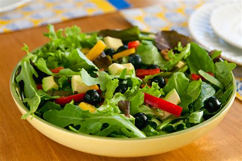 picture of green salad colorful green salads vegkitchen