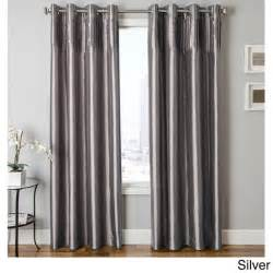 Lush Decor Velvet Curtains by Cosmo Faux Silk Grommet Top Curtain Panel Free Shipping