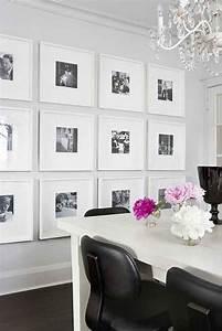 Bilder Für Schlafzimmer Wand : bilder und fotos an der wei en wand im esszimmer dekoidee f r elegante rahmen pinterest ~ Sanjose-hotels-ca.com Haus und Dekorationen
