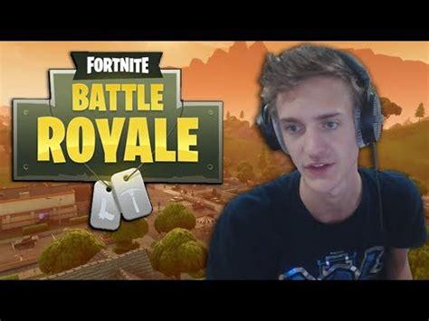 ninja fortnite battle royale highlights youtube