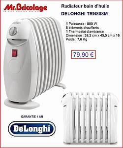 Radiateur Bain D Huile Delonghi : radiateur bain d huile noir id es de ~ Dailycaller-alerts.com Idées de Décoration