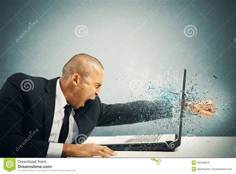 stress  frustration stock photo image  furious