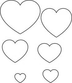 Free Large Printable Heart Stencils