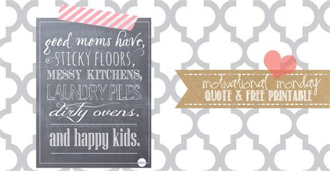 motivational monday chalkboard print quote good moms
